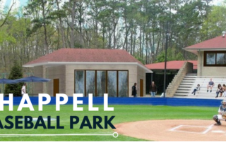 Chappell Baseball Park Construction | Higher Education Addition | Cooper & Company General Contractors | Atlanta, GA