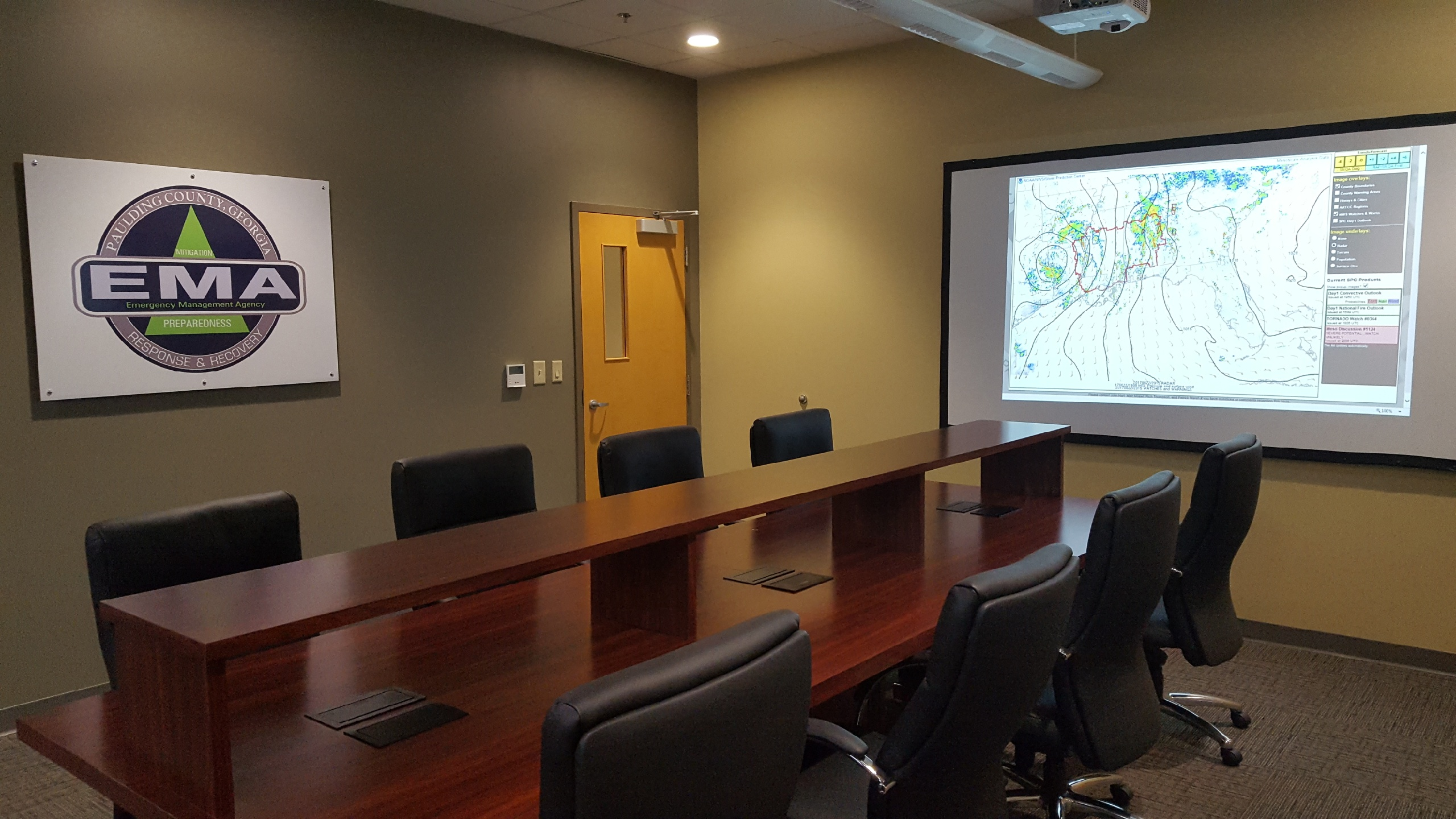 Paulding County 911 E Operations Center | Conference Room #2 | Dallas, GA | Cooper & Company General Contractors