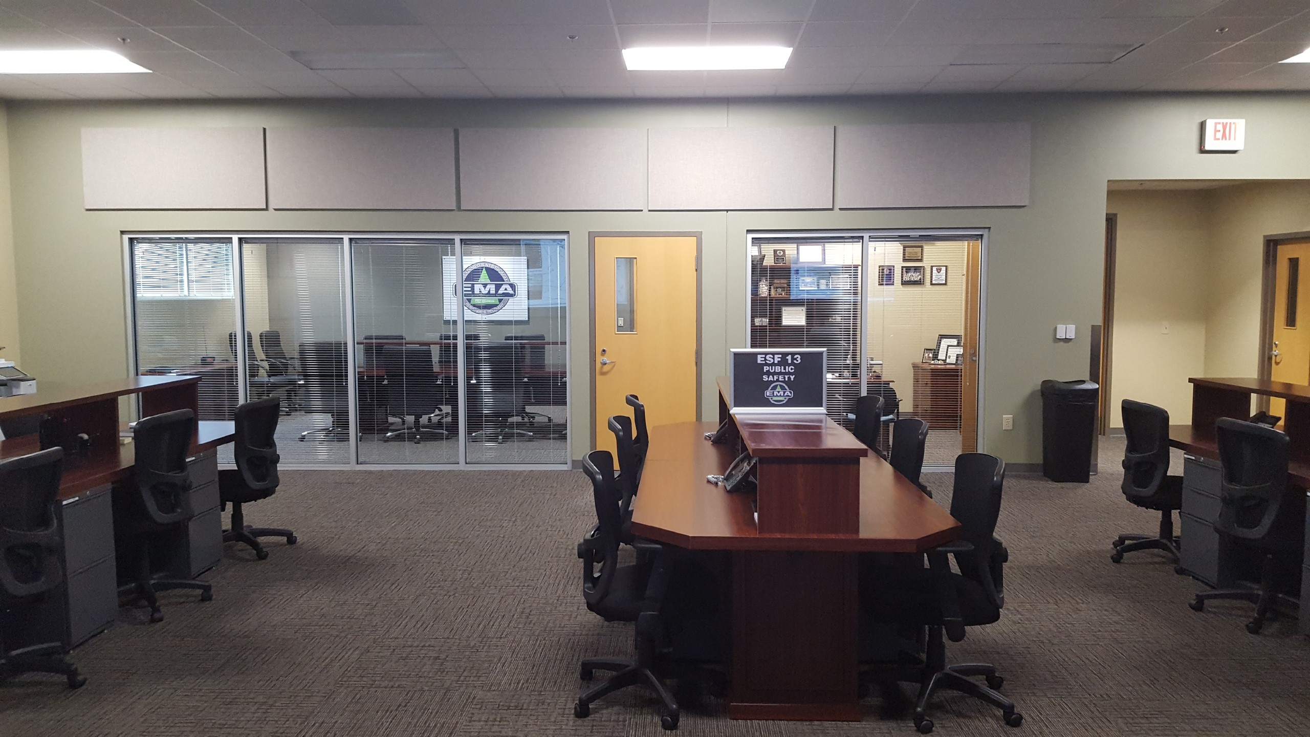 Paulding County 911 E Operations Center | EOC Room #1 | Dallas, GA | Cooper & Company General Contractors
