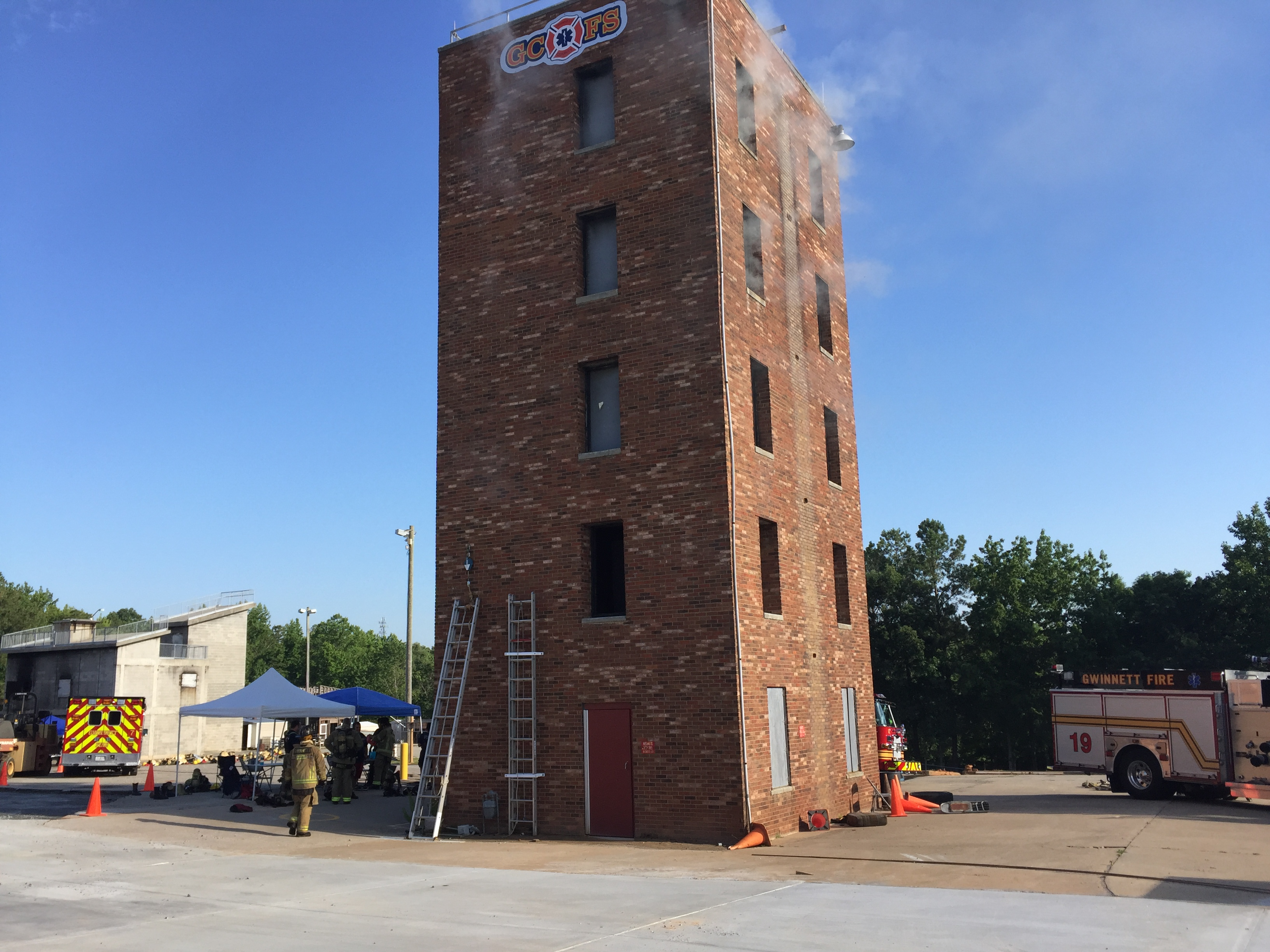 Fire Training Tower | Gwinnett Fire Training Academy | Cooper & Company General Contractors