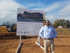 President and Principal Steve Cooper | Habersham County Administrative Building | Clarkesville, GA | Cooper & Company