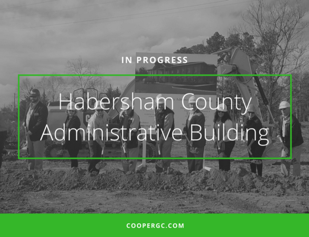 In Progress: Habersham County Administrative Building