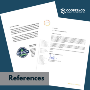 Company References | Cooper & Company General Contractors | Cumming, GA