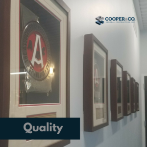 Company Awards & Accolades | Cooper & Company General Contractors | Cumming, GA