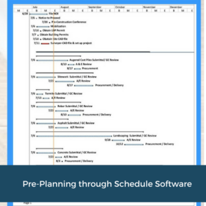 Pre-Plan with Scheduling | Cooper and Company General Contractors | Atlanta, GA