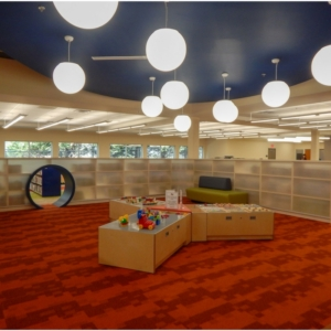 Sharon Forks Library Children's Area | Cooper & Co General Contractors | Cumming, GA