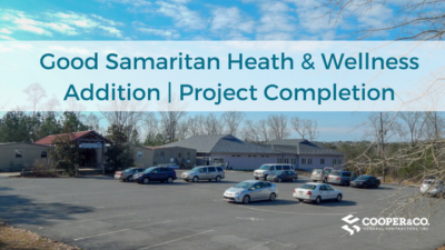Good Samaritan Heath & Wellness Addition _ Project Completion