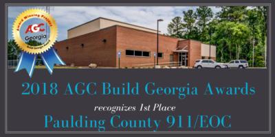 2018 AGC Build Georgia Award
