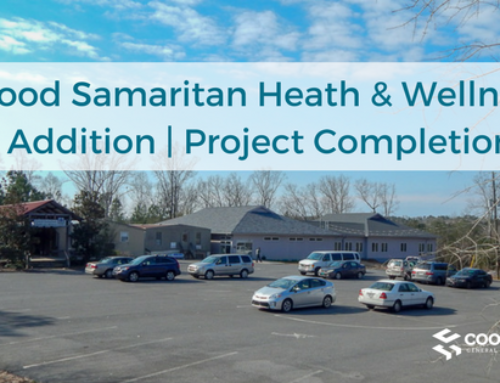 Good Samaritan Heath & Wellness Addition | Project Completion
