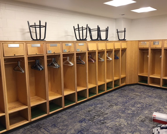 Emory University Baseball Locker Rooms at Chappell Park