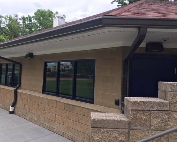 Emory Baseball Clubhouse at Chappell Park