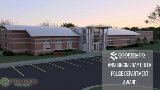 Bay Creek Police Precinct Rendering | Cooper & Company General Contractors | Loganville, GA