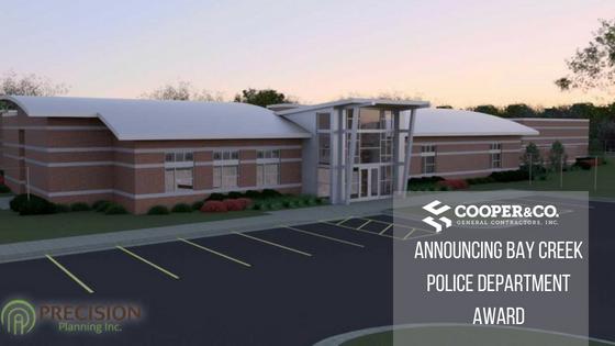 Bay Creek Police Precinct Rendering | Cooper & Company General Contractors | Loganville, GA