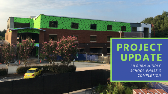Project Update: Lilburn Middle School Phase 3 Completion