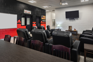 Gwinnett Fire Station #15 | Interior Lounge Area | Cooper & Company General Contractors