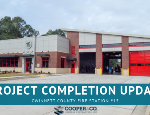 Project Update: Gwinnett Fire Station #15 Completion