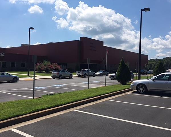Stone Mountain Front Entrance   Dekalb County Schools   Cooper & Company