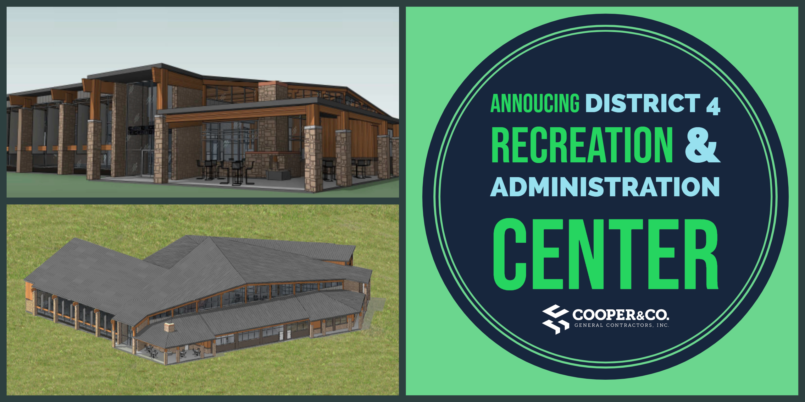 Clayton County District 4 Recreation & Administrative Center | Cooper & Company General Contractors | Jonesboro, GA