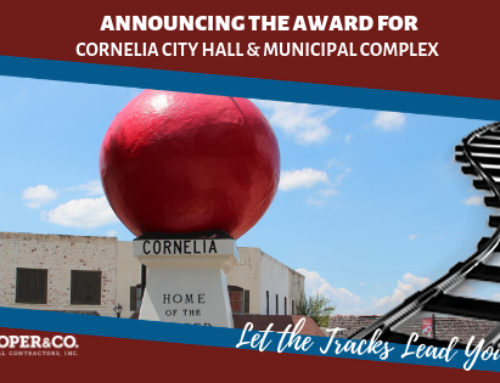 Cooper & Company Partners with the City of Cornelia
