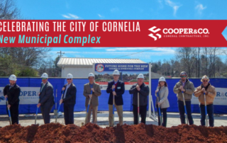 City of Cornelia Groundbreaking | Cooper & Company General Contractors