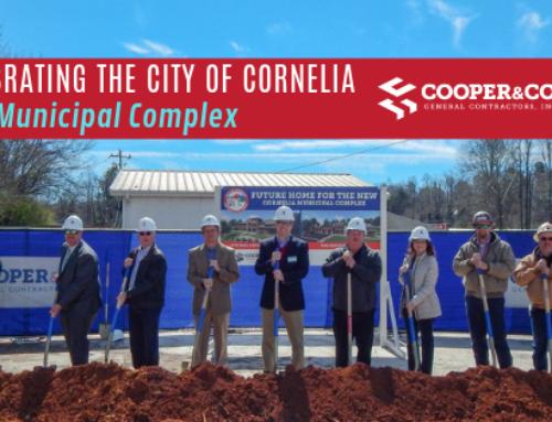 City of Cornelia Successfully Breaks Ground for New Municipal Complex