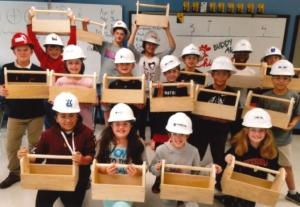 Construction Club Students | Fulton County Schools
