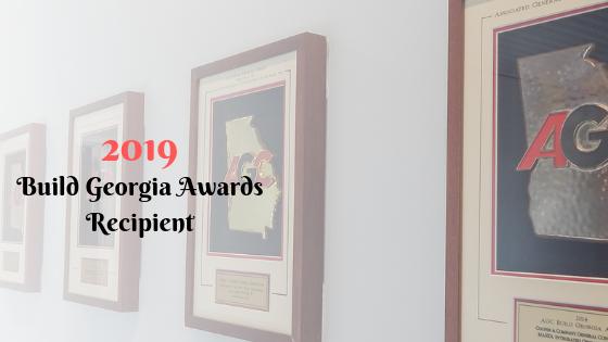 Build Georgia Awards Wall | Cooper&Company