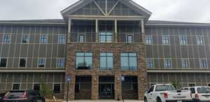 Rear Entry for Habersham County Admin Building | Cooper & Company General Contractors