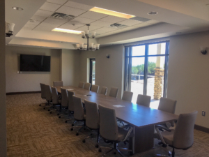 Interior Conference Room | Habersham County Administrative Building | Cooper & Company General Contractors