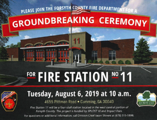 Forsyth County Government to Break Ground on New Fire Station