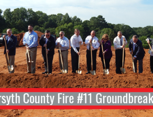 Forsyth Fire Station 11 Breaks Ground