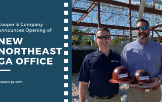 Northeast GA Office Announcement | Cooper & Company