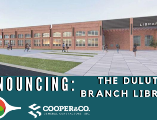 Cooper & Company Awarded Construction of the Duluth Branch Library