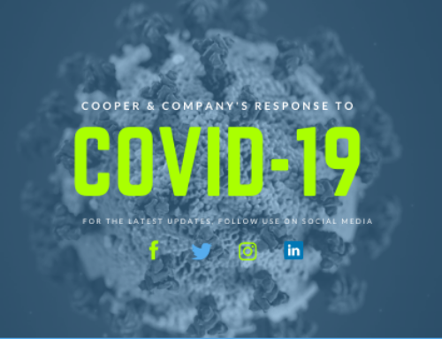 UPDATE:  Cooper & Company's Response to COVID -19   What You Need to Know